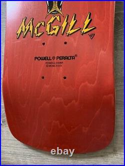 NOS Powell Peralta Mike McGill Skateboard Full Size Vision Santa Cruz
