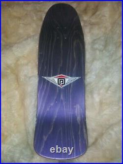 NOS Powell Peralta Ray Underhill Cross Skateboard Deck Purple Stain Not Reissue