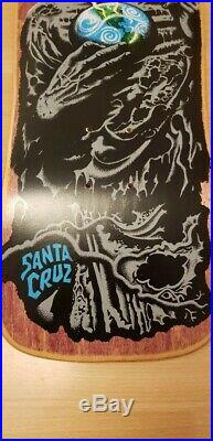 NOS Santa Cruz Jeff Kendall Atom Man Vintage Skateboard Deck