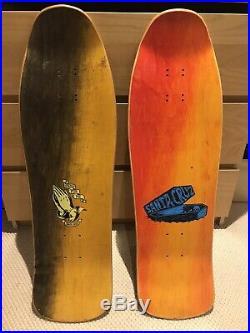 NOS Santa Cruz Jessee And Goodman Skateboard Decks