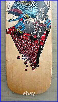 NOS Schmitt Stix Andy Howell OG Vintage Skateboard Deck RARE Santa Cruz Era 80's