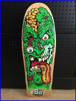 NOS Vintage Santa Cruz 30 Year Rob Roskopp Face 2 Skateboard Deck