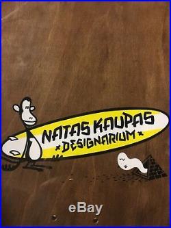 Natas Kaupas 1991 SMA Skateboards Reissue Deck 101 Santa Cruz Mark Gonzales Real