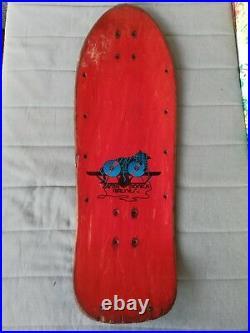 Natas Kaupas Kitten Og Skateboard Old deck School santa Cruz