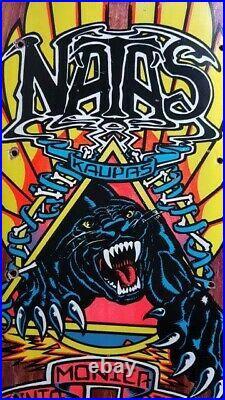 Natas Kaupas Panther 3 OG Vintage 1988 Santa Cruz SMA Skateboard