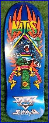 Natas Kaupas SMA Santa Cruz Skateboard Deck Powell Hawk Hosoi Caballero Gonzales