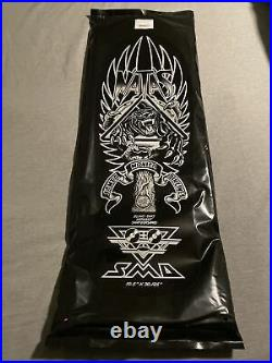 Natas Kaupas Santa Cruz Blind Bag Skateboard Deck Custom Black And Gold