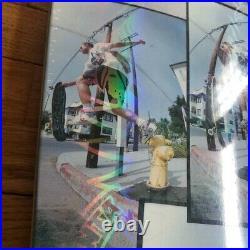 Natas Kaupas Santa Cruz Blind Bag Skateboard Deck Photo with Custom Prismatic