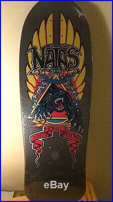 Natas Kaupas Santa Monica Airlines Reissue Deck By Santa Cruz Skateboards