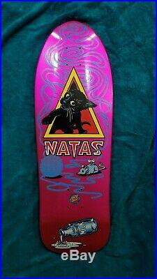 Natas Kaupas Santa Monica Airlines Reissue Deck By Santa Cruz Skateboards Kitten