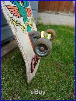 Natas SMA Santa Cruz Vintage 80s Old School Skateboard