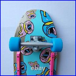 New! Odd Future X Santa Cruz Screaming Donut Complete Skateboard Deck