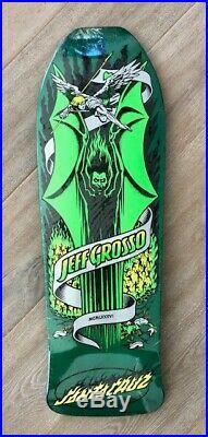 New Santa Cruz Jeff Grosso Demon Reissue Skateboard Deck