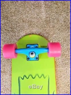 New Santa Cruz Limited Edition Bart Simpson Cruiser 27 Replica Skateboard