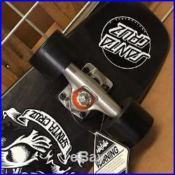 New Santa Cruz PFM Skeleton Jammer Cruzer Complete Skateboard 7.4in x 29.1in