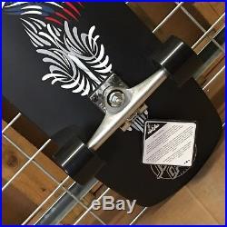 New Santa Cruz Pinhand Cruzer Black Complete Skateboard 34.83in x 9.25in
