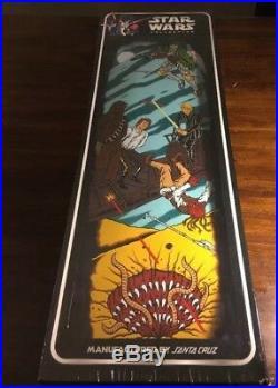 New Star Wars Santa Cruz Collectible Skateboard Deck SARLACC PIT