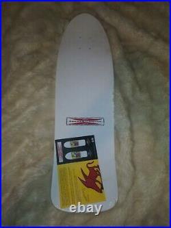 New in Shrink G&S Neil Blender Rocking Dog Reissue Skateboard Deck White Dip