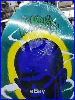 New in shrink Santa Cruz Jeff Kendall Atom Man Reissue Skateboard Deck