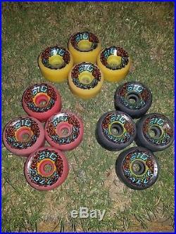 Nos 1980' Santa Cruz Skateboard Wheels