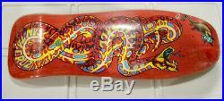 Nos 2015 Santa Cruz Jeff kendall Snake skateboard oldschool Reissue Deck