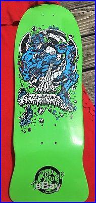 Nos Rare Santa Cruz Rob Roskopp Skateboard Deck Old School Reissue #3