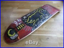 Nos Santa Cruz Jeff Kendal Wolf Skateboard Deck Cruz Missile II 2