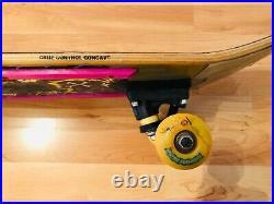 Nos Santa Cruz Skateboard Kendall Deck Vintage 1990 Retro 90s Old School
