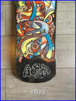 Nos Vintage Santa Cruz Hosoi Skateboard Deck