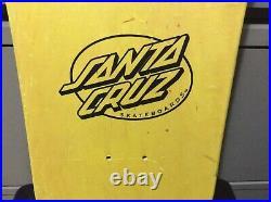 Nos vintage santa cruz rob roskopp target 4 skateboard deck original