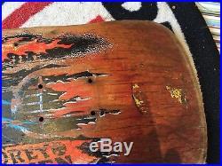 OG Corey Obrien OBrien Reaper Santa Cruz Skateboard Deck 80s Original