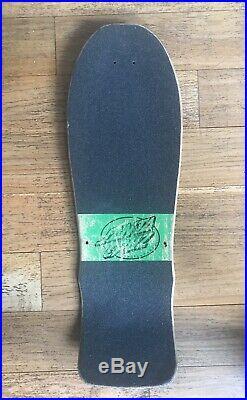 OG Santa Cruz Claus Grabke Exploding Clock Vintage Skateboard