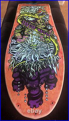 ORIGINAL 1989 Jason Jessee Neptune 2 vintage skateboard deck Santa Cruz 89 Natas