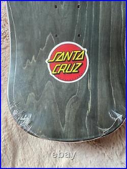 Old School Reissue Santa Cruz Jason Jessee Sungod Mini Skateboard Deck