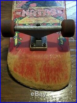 Old School Skateboard Natas Kaupas Vtg Santa Monica Airlines RARE 80s Santa Cruz