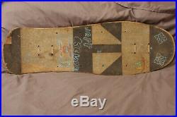 Orig Jeff Kendall Jagermeister Skateboard Deck Santa Cruz Skateboards natas gonz