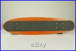 Original 1970's Santa Cruz Skateboard Fibreflex Deck Old School Vintage