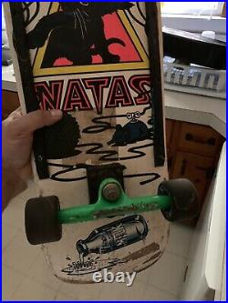 Original 1988 Skateboard Mini Natas Complete Rare Look