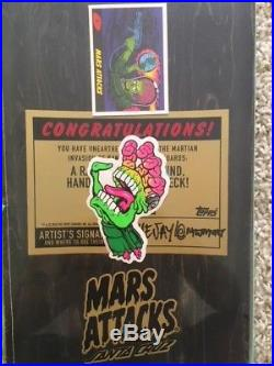 Original Paint Blind Bag Mars Attacks Skateboard Deck Santa Cruz