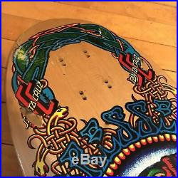 Original Santa Cruz Eric Dressen vintage Skateboard deck 1989