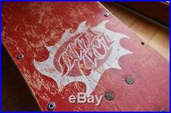 Original Vintage Santa Cruz Jason Jessee Skateboard