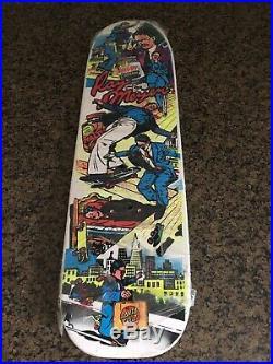 Original Vintage Santa Cruz Ray Meyers Skippy Freestyle Skateboard NOS