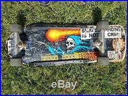 Original vintage Santa Cruz Corey O'Brien Skateboard complete
