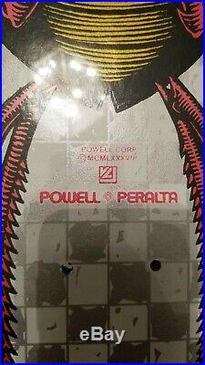 Powell Peralta Bug Roach skateboard deck NOS vintage Santa Cruz zorlac G&S