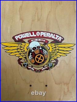 Powell Peralta Tony Hawk Medallion skateboard deck Santa Cruz