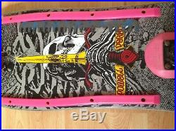 Powell Peralta Vintage Skateboard Cell Block Santa Cruz Dragon 1980 Skull RARE