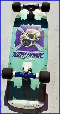 Powell peralta vintage tony hawk santa cruz skateboard caballero bones brigade
