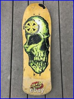 RARE OG 1990s Santa Cruz Street Creep Skateboard Deck Powell Peralta Sims