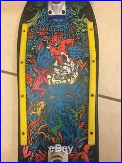 RARE Original 80s vintage Rob Roskopp skateboard Santa Cruz