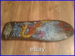 RARE Santa Cruz Jason Jessee Neptune Reissue Skateboard Deck 30 F-ing year